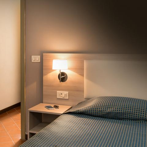 Rest in all tranquillity, with our standard rooms in the heart of Brescia